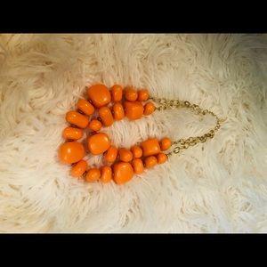 Cute Orange Necklace